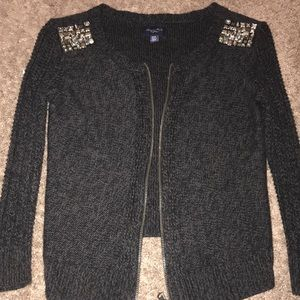 American Eagle Gray Knit Sweater ♥️❗️
